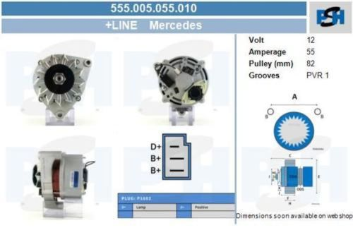 Generator NEU /& PFANDFREI BOSCH Lichtmaschine
