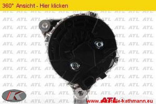 ATL LICHTMASCHINE GENERATOR 120 A MERCEDES C-KLASSE W203 S203 CL203 C180