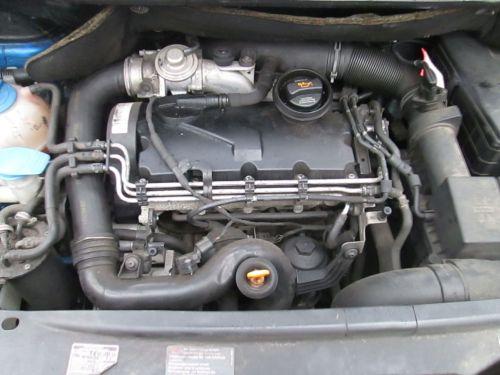 Motor ohne Anbauteile (Diesel) Motor Komplett mit AnbauteileVW TOURAN (1T1, 1T2) 1.9 TDI