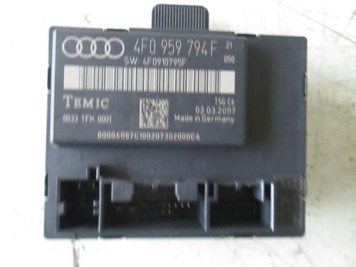 Steuergerät TürsteuergerätAUDI A6 AVANT (4F5, C6) 2.7 TDI