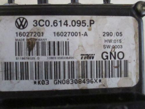 Bremsaggregat ABS VW PASSAT (3C2) 2.0 TDI