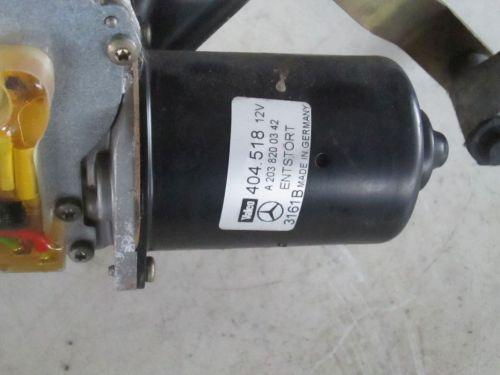 Wischermotor Wischermotor vorneMERCEDES-BENZ C-KLASSE (W203) C 220 CDI