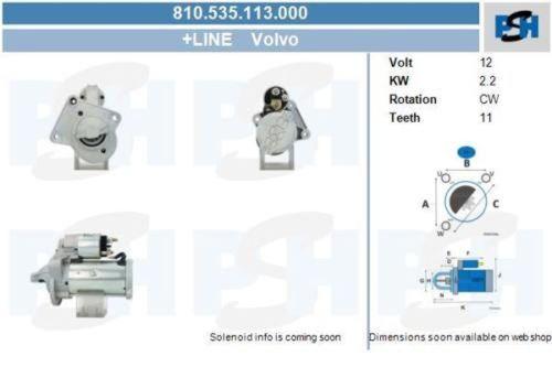 Anlasser / Starter Anlasser / Starter NEU & PFANDFREIVOLVO C30 2.0 D