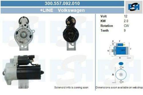 Anlasser / Starter Anlasser / Starter NEU & PFANDFREIVW LT 28-46 II PRITSCHE/FAHRGESTELL (2DX0FE
