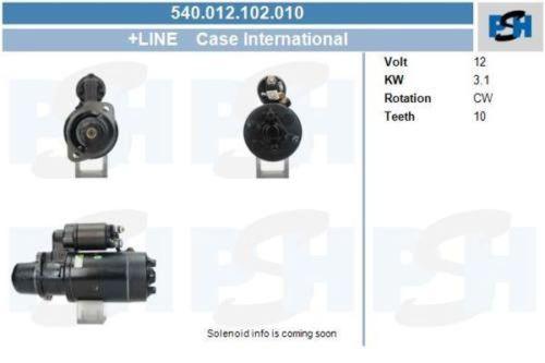 Anlasser / Starter Anlasser Case International 3.1 kwCASE INTERNATIONAL