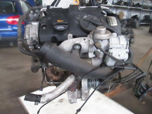 Motor ohne Anbauteile (Diesel) Motor mit Anbauteile komplettSKODA FABIA COMBI (6Y5) 1.4 TDI