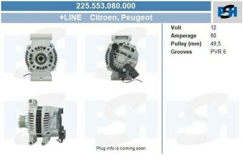 Lichtmaschine / Generator Lichtmaschine Generator LiMa für Fahrzeuge mit KlimaPEUGEOT 208 1.6 GTI